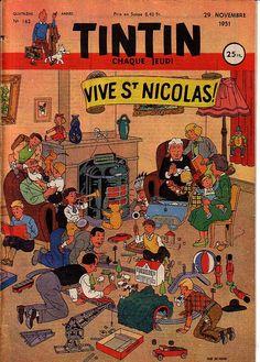 Tintin, Vive St Nicolas, 1951