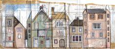 aldeburgh street scene 1 by chalky-white on DeviantArt