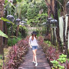 """A walk with the #mothernature.. #ootd #vacation #fashion #chiaphotography #FourSeasonsLangkawi"""