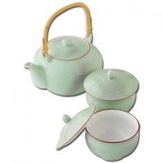 さがの 蓋付茶器揃 56081 こだわり雑貨本舗 キッチン用品 Sugar Bowl, Bowl Set
