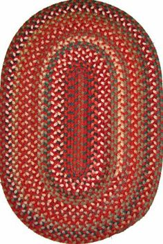 Wool-Luv 6' x 6' Round Braided Rug Colonial Red by Constitution Rugs LLC. $215.75. Colorfast and reversible for longer wear. 2-ply Roving Surface Yarns 40% Wool, 60% Nylon. Heavy duty 3-Carrier non-banded braid construction. Our best-selling flat-braided rug! Proprietary dyeing technique produces harmonious color transitions and a variegated color theme, simulating the floor coverings crafted by Early American Settlers. This unique dye process affords each rug i...