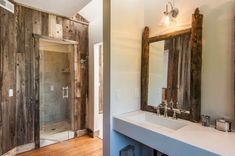 Castle Cabin in the Mountains | Woodz Castle, Oversized Mirror, Skiing, This Is Us, Country, Luxury, House, Rustic Bathrooms, Furniture