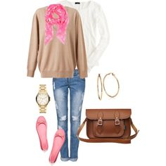 Slouchy Spring Saturday by djgauh on Polyvore