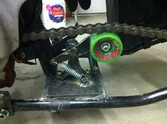 Sweet chain tensioner idea