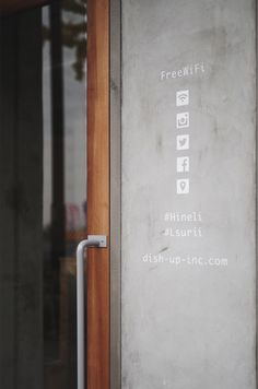 Cafe Shop Design, Cafe Interior Design, Retail Store Design, Wayfinding Signage, Signage Design, Small Coffee Shop, Floor Graphics, Sendai, Restaurant Design