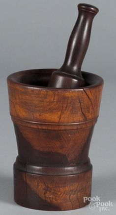 Extra Large Wood Mortar And Pestle Antique 175 00 Ships