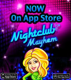 The Hip 'n Happening Time Management Game Nightclub Mayhem v2.0 is finally out on the App Store for iPad & Mac! Join Brooke and her team in managing her Nightclubs located at some of the hottest party destinations around the world - Miami, London, Hong Kong & LA! Play a bunch of exciting mini-games, manage commotions and ensure everybody has an awesome time at your Nightclubs.    So, what are you waiting for? Grab those dancing shoes & party the night away with Nightclub Mayhem v2.0!