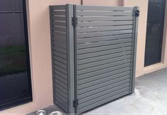 Tall Cabinet Storage, Locker Storage, Lockers, Patio, Doors, Contemporary, Fencing, Outdoor Decor, Exterior