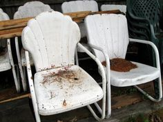 my favorite metal outside chairs