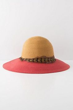 Crimson Borders Hat