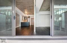 Ninety Lofts - Concrete Ceiling, Lofts For Rent, Exposed Concrete, Open Concept, Balcony, Locker Storage, Toronto, Bbq, Windows
