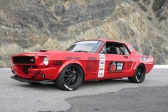 Wilwood builds a 1966 Ford Mustang to develop brakes, and ends up racing the wheels off of it!