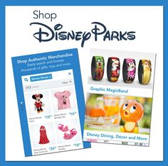 New 'Shop Disney Parks' App Lets You Purchase Authentic Theme Park Merchandise From Your Mobile Device