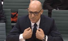 December 20 2016 - Sports pic of the day:  Sir Dave Brailsford faces Culture, Media and Sport Select Committee to discuss mystery package contents from 2011