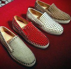 Christian Louboutin Mens Shoes - Imagine if someones shirt said kick me.... >;) L0l.