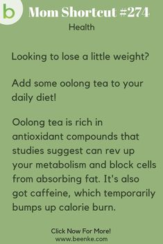 Health Tips Try some oolong tea to help boost weight loss! Health and wellness tips and tricks including; Natural remedies, food, losing weight, and more to support your healthy lifestyle. CLICK NOW to discover more great Health Hacks! and wellness Tips And Tricks, Wellness Tips, Health And Wellness, Health Fitness, Fitness Tips, Key Health, Fitness Memes, Fitness Style, Fitness Outfits