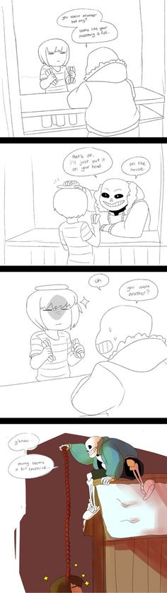 [Undertale] the hotdog thing by inside-under