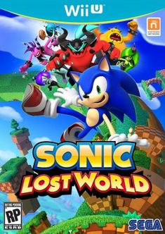 Sonic Lost World  - SEGA, Wii U game cover