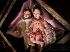 When The Little Prince met The Little Princess romantic wonders dolls