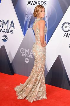 All the Best Looks from the 2015 Country Music Awards - Cosmopolitan.com  Cassadee Pope 8a6e63031