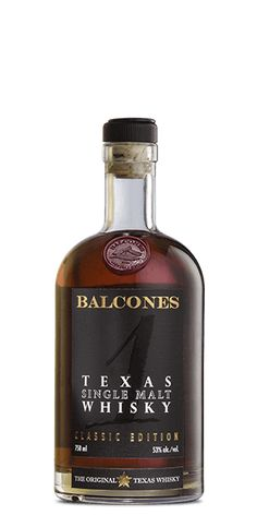 Balcones Texas Single Malt Whisky is a non-chill-filtered, ABV bottle of Lone-Star awesomeness. Whiskey Brands, Cigars And Whiskey, Scotch Whiskey, Bourbon Whiskey, Whiskey Bottle, Alcoholic Drinks, Beverages, Cocktails, Champagne