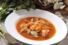 Caldo de mariscos a la mexicana | Cocina y Comparte | Recetas de Cocina al Natural