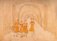 Henry Darger, Tunnel