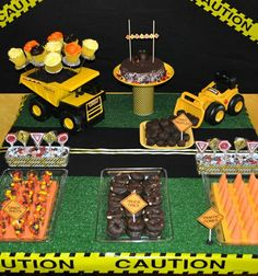 Construction themed birthday - Click image to find more Food & Drink Pinterest pins