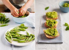 Pea & avocado spread Avocado Spread, Avocado Toast, Gluten Free, Pasta, Breakfast, Recipes, Food, Glutenfree, Recipies