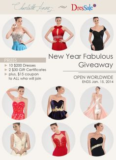 ENTER TO WIN $200 Dress, $30 GC, & $15 coupon【 http://wp.me/p3V93o-gi 】ends 1.15.14 #giveaway