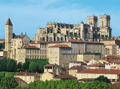 """Auch, France, the capital of the Gers, Les Landes de Gascogne region.Known as the """"stomping grounds"""" of D'Artagnan Aquitaine, Weekend In London, Languedoc Roussillon, Ville France, Southern France, Holiday Places, Beaux Villages, Pyrenees, France Travel"""