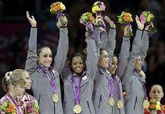 "The ""Fab 5""... Team USA!!!"