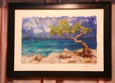 Wool felted paintings by Tatiana Glushkova