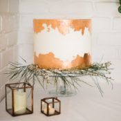 Luxe Copper & Red Wedding Ideas