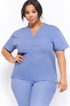 Forever 21 is the authority on fashion & the go-to retailer for the latest trends, styles & the hottest deals. Shop dresses, tops, tees, leggings & more! Healthcare Uniforms, Shop Forever, Forever 21, Cute Scrubs, Lab Coats, Nurse Costume, Nursing Dress, Scrub Pants, Abaya Fashion