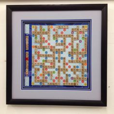 Frame Your Game!  Scrabble