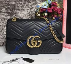Shop for a Gucci Medium GG Marmont Matelasse Shoulder Bag at wholesale  price- USD 372 3eedd55764097