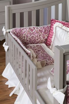 Silva Furniture Sophia Convertible Crib | Solid Wood Baby Furniture |  Pinterest | Convertible Crib, Crib And Baby Furniture