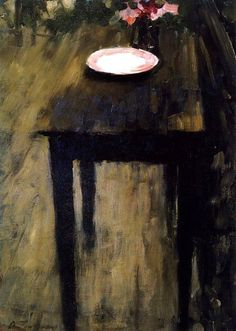 Black Table, 1901 by Alexei Jawlensky (Russian-born German Expressionist painter, 1864-1941)