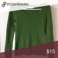 Merona: Green Sweater ✨ Merona Sweaters Crew & Scoop Necks