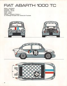 FIAT ABARTH 1000 TC !