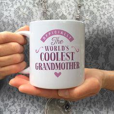 Cool GrandMother, GrandMother Gift, GrandMother Mug, Birthday Gift For GrandMother! GrandMother, GrandMother Present, GrandMother Birthday