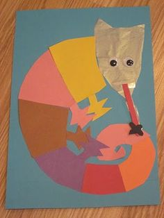 """Eric Carle Inspired """"Mixed Up Chameleon"""""""