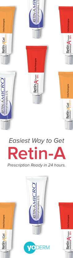 The Easiest Way To Get Retin-A — After your online consult with a dermatologist, we'll prescribe a customized treatment plan that includes Retin-A or another appropriate prescription. — Get your Retin-A prescription from a dermatologist now.