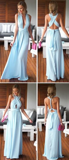 Perfect for same dress but different look on bridesmaids!!