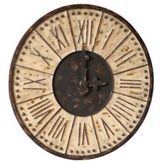 Roman Numeral Clock - Clocks - Decor