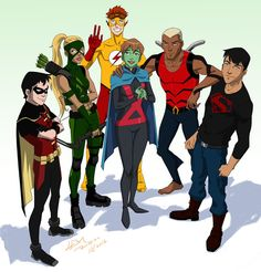 Young Justice Season 3 by Lemwell on DeviantArt