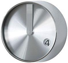 Amazon スパイス 壁掛け時計 エッジ フューチャリスティック ウォールクロック シルバー21cm TELR1070SV 置き時計・掛け時計 オンライン通販