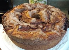 Banana Cake with Sugar Cinnamon from Tia Maria's Blog