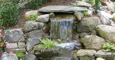 Amazing Pondless Waterfalls Garden Design Ideas : Outdoor Landscaping Plans With Water Features And Elements Of Pondless Waterfall Design Perfect F… | Pinteres…